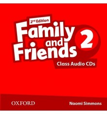 Family and Friends 2nd Edition 2: Class Audio CDs (3)
