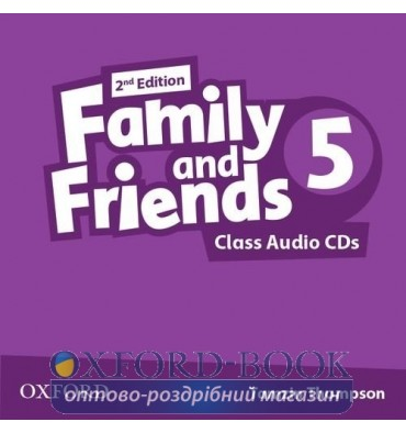 Диск Family and Friends 2nd Edition 5 Class Audio CD (2) ISBN 9780194808262