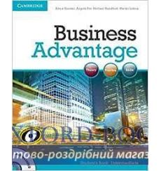Учебник Business Advantage Intermediate Students Book with DVD 9780521132206 купить Киев Украина