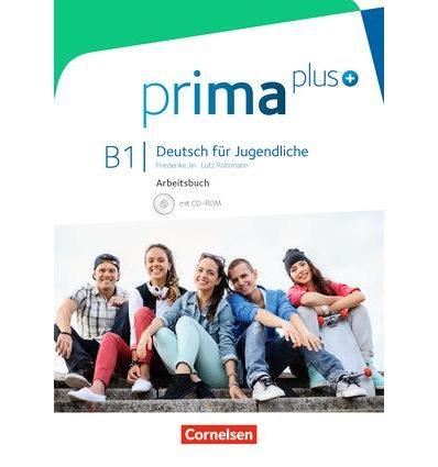 Рабочая тетрадь Prima plus B1 Arbeitsbuch mit CD-ROM Jin, F ISBN 9783061206543