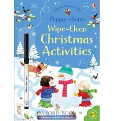 Книга Poppy and Sams Wipe-Clean Christmas Activities Taplin, S  9781474962599 купить Киев Украина
