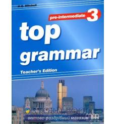 top grammar 3 pre-intermediate teacher's ed.