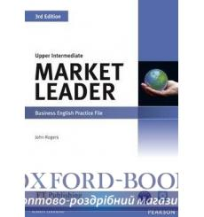 Market Leader 3rd Edition Upper-Intermediate Practice File with Audio CD Pack