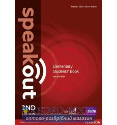 Speakout 2nd Edition Elementary Student's Book with DVD-ROM