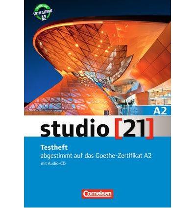 Тесты Studio 21 A2 Testheft mit Audio CD