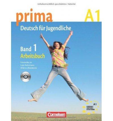 Рабочая тетрадь Prima-Deutsch fur Jugendliche 1 (A1) Arbeitsbuch+CD Jin, F ISBN 9783060200528