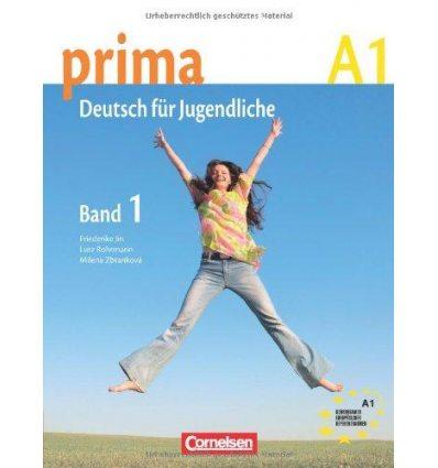 Учебник Prima-Deutsch fur Jugendliche 1 (A1) Schulerbuch Jin, F ISBN 9783060200511