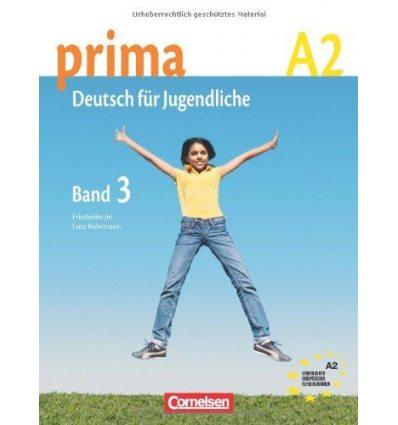 Учебник Prima-Deutsch fur Jugendliche 3 (A2) Schulerbuch Jin, F ISBN 9783060200757