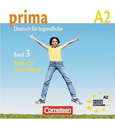 Prima-Deutsch fur Jugendliche 3 (A2) CD Jin, F ISBN 9783060200771