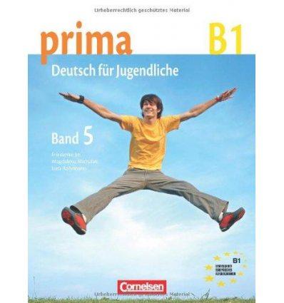 Учебник Prima-Deutsch fur Jugendliche 5 (B1) Schulerbuch Jin, F ISBN 9783060201761
