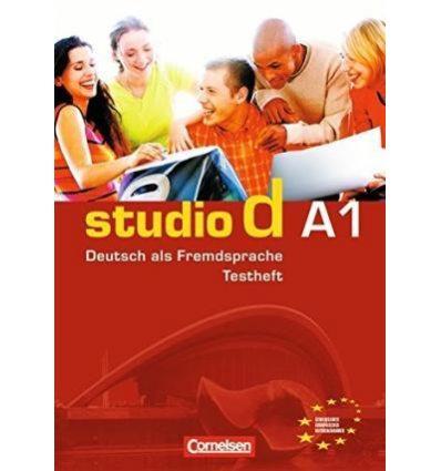 """Тесты Studio d  A1 Testvorbereitungsheft A1 und Modelltest \""""Start Deutsch 1\"""""""" Mit  CD"""""""