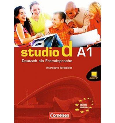 Studio d A1 Whiteboardmaterial auf DVD-ROM Interaktive Tafelbilder Einzellizenz Deutz, G ISBN 9783464208717