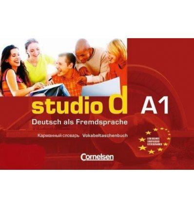 Книга Studio d A1 Vokabeltaschenbuch Deutsch-Russisch Funk, H ISBN 9783464207598