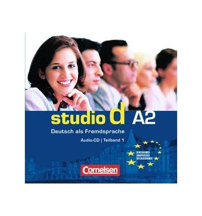 Studio d A2 Teil 1 (1-6) CD Sanders, M ISBN 9783464207741