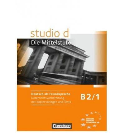 Тесты Studio d  B2/1 Unterrichtsvorbereitung mit kopiervorlagen und Tests