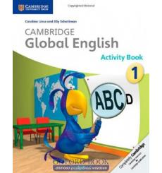 Тетрадь Cambridge Global English 1 activity book Linse C 9781107655133 купить Киев Украина