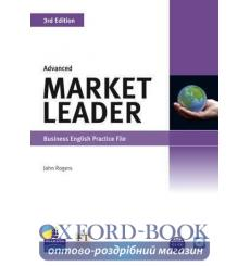 Market Leader 3rd Edition Advanced Practice File with Audio CD Pack