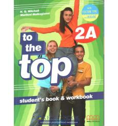 Учебник To the Top 2A Students Book+workbook with CD-ROM with Culture Time for Ukraine Mitchell, H 9786180509205 купить Киев ...
