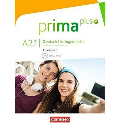Рабочая тетрадь Prima plus A2/1 Arbeitsbuch mit CD-ROM Jin, F ISBN 9783061206444