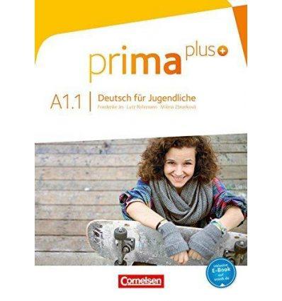 Книга Prima plus A1/1 Handreichung fUr den Unterrricht Jin, F ISBN 9783061206369