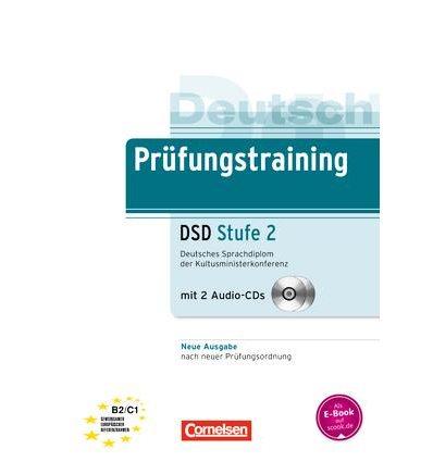 Prufungstraining Deutsches Sprachdiplom der Kultusministerkonferenz Stufe 2 (DSD) B2-C1+CDs (2) ISBN 9783060229000