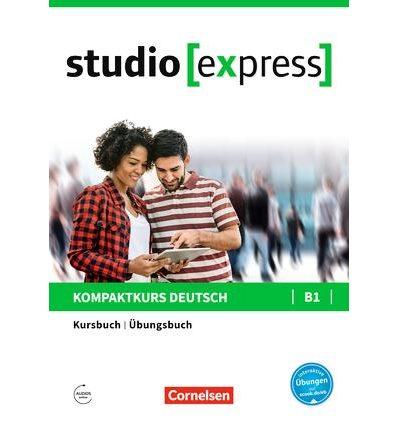Учебник Studio [express] B1 Kursbuch und Ubungsbuch ISBN 9783065499736