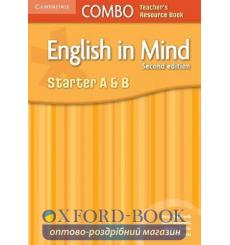 Книга English in Mind Combo Starter A and B Teachers Resource Book Hart B 2nd Edition 9780521183130 купить Киев Украина
