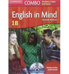 Учебник English in Mind Combo 1B Students Book+workbook with DVD-ROM Puchta, H 3rd Edition 9780521183277 купить Киев Украина