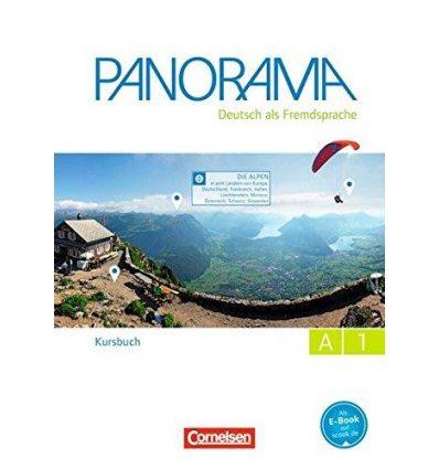 Учебник Panorama A1 Kursbuch mit Augmented-Reality-Elementen Finster, A ISBN 9783061204822