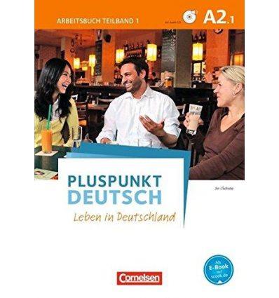 Рабочая тетрадь Pluspunkt Deutsch NEU A2/1 Arbeitsbuch mit Audio-CD und L?sungsbeileger Jin, F ISBN 9783061205744
