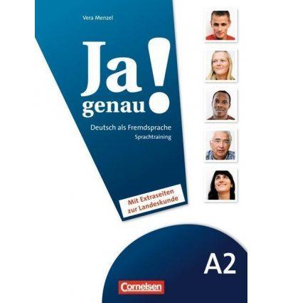 Книга Ja genau! A2 Sprachtraining DaF mit Landeskundeseiten Menzel, V ISBN 9783060204632