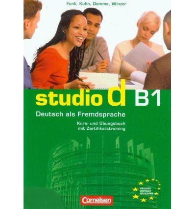 Тетрадь Studio d B1/2 Kursbuch und Ubungsbuch mit CD Funk, H ISBN 9783060204670