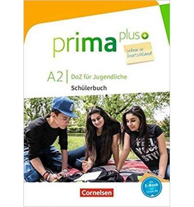 Книга Prima plus A2 Leben in Deutschland Schulerbuch mit MP3-Download Friederike, J ISBN 9783065208963