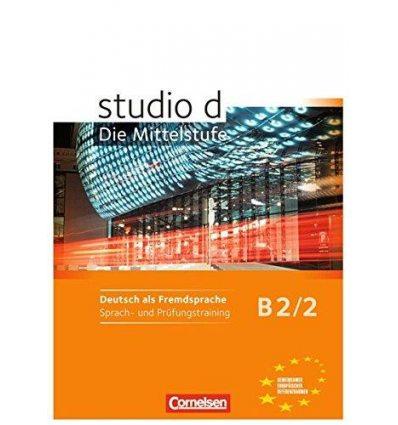Рабочая тетрадь Studio d B2/2 Sprach- und Prufungstraining Arbeitsheft Funk, H ISBN 9783060207169