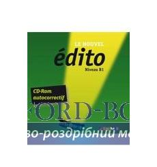 Edito B1 Nouvel Edition CD-ROM autocerrectif