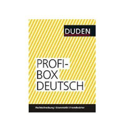 Грамматика Profibox Deutsch: Rechtschreibung, Grammatik und FremdwOrter ISBN 9783411708956