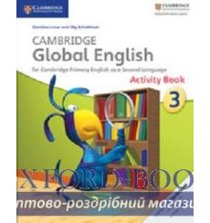 Тетрадь Cambridge Global English 3 activity book Boylan J 9781107613836 купить Киев Украина