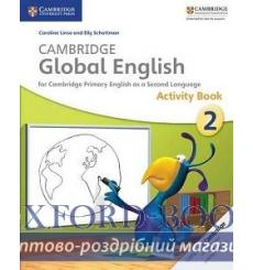 Тетрадь Cambridge Global English 2 activity book Boylan J 9781107613812 купить Киев Украина