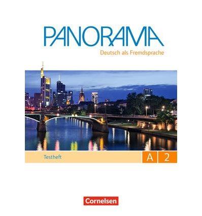 Тесты Panorama A2 Testheft mit CD ISBN 9783061205089