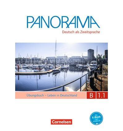 Тетрадь Panorama B1.1 Ubungsbuch DaZ mit CD ISBN 9783061206062