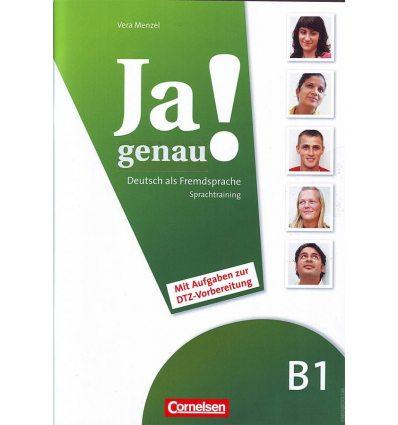 Книга Ja genau! B1 Sprachtraining DaZ mit Differenzierungsmaterial Menzel, V ISBN 9783060241651