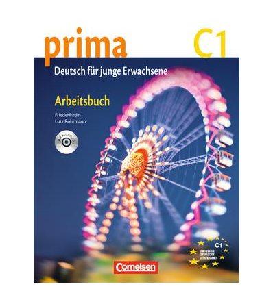 Рабочая тетрадь Prima-Deutsch fur Jugendliche 7 (C1) Arbeitsbuch+CD Jin, F ISBN 9783060206957