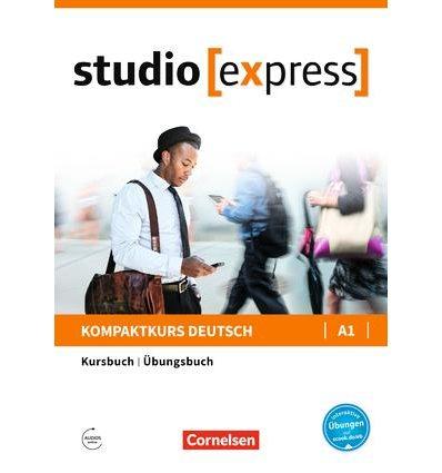 Учебник Studio [express] A1 Kursbuch und Ubungsbuch ISBN 9783065499712