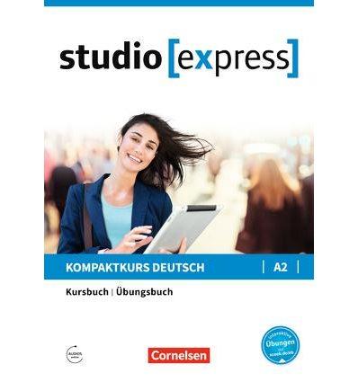 Учебник Studio [express] A2 Kursbuch und Ubungsbuch ISBN 9783065499729