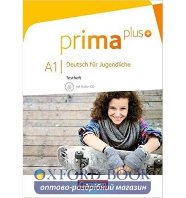 Тесты Prima plus A1 Testheft mit Audio-CD Chobotar, T ISBN 9783060215249
