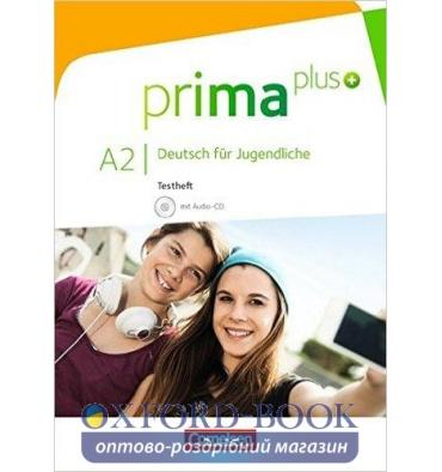 Тесты Prima plus A2 Testheft mit Audio-CD Chobotar, T ISBN 9783060215256