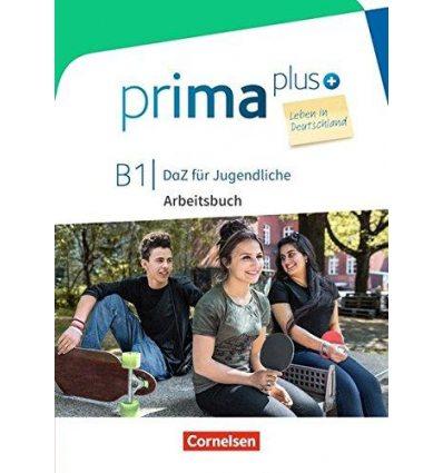 Рабочая тетрадь Prima plus B1 Leben in Deutschland Arbeitsbuch mit MP3-Download und L?sungen ISBN 9783065209090