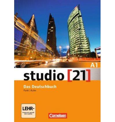 Studio 21 A1 Deutschbuch mit DVD-ROM Funk, H ISBN 9783065205269