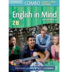 Учебник English in Mind Combo 2B Students Book+workbook with DVD-ROM Puchta, H 3rd Edition 9780521183307 купить Киев Украина
