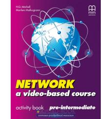 Тетрадь Network a video- based course Pre-Intermediate activity book Mitchell H 9789604784271 купить Киев Украина